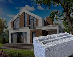 строительство домов из керамзитобетона