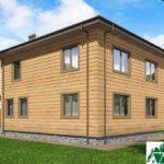 Двухэтажный дом с террасой SD-400 Вид2