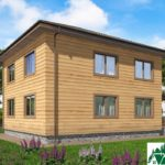 Двухэтажный дом с террасой SD-400 Вид3
