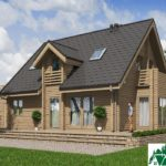 Одноэтажный дом с мансардой, гаражом и террасой SD-378 Вид4