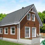 Одноэтажный дом с мансардой и террасой SD-021 Вид4