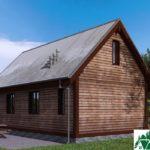 Одноэтажный дом с террасой SD-103 Вид3