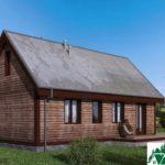 Одноэтажный дом с террасой SD-103 Вид4