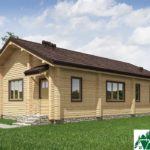 Одноэтажный дом с террасой SD-636 Вид3