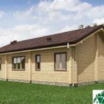 Одноэтажный дом с террасой SD-636 Вид4