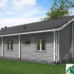 Одноэтажный дом с верандой SD-725 Вид3