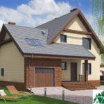 Проект дома с мансардой SD-197 вид 1 8