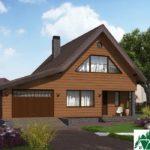 Проект дома с мансардой SD-364 вид 1 11