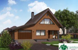 Проект дома с мансардой SD 364 вид 1 11