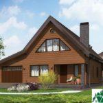 Проект дома с мансардой SD-364 вид 2 11
