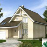 Проект дома с мансардой SD-375 вид 1 6