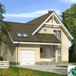 Проект дома с мансардой SD-375 вид 4 6