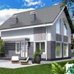 Проект дома с мансардой SD-431 вид 1 14