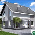Проект дома с мансардой SD-431 вид 2 14
