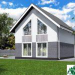 Проект дома с мансардой SD-431 вид 3 14