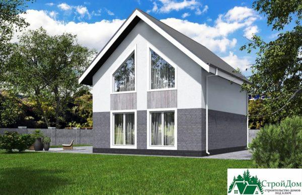 Проект дома с мансардой SD 431 вид 3 14
