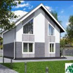 Проект дома с мансардой SD-431 вид 4 14