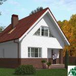 Проект дома с мансардой SD-439 вид 1 7