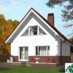 Проект дома с мансардой SD-439 вид 4 7