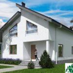 Проект дома с мансардой SD-539 вид 2 10