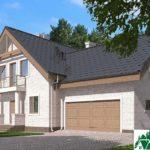 Проект дома с мансардой SD-585 вид 2 3