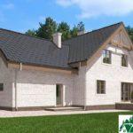Проект дома с мансардой SD-585 вид 3 3