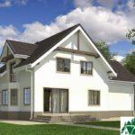 Проект дома с мансардой SD-609 вид 3 9