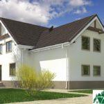 Проект дома с мансардой SD-609 вид 4 9