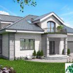 Проект дома с мансардой SD-913 вид 1 16