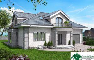 Проект дома с мансардой SD 913 вид 1 16