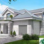 Проект дома с мансардой SD-913 вид 2 16