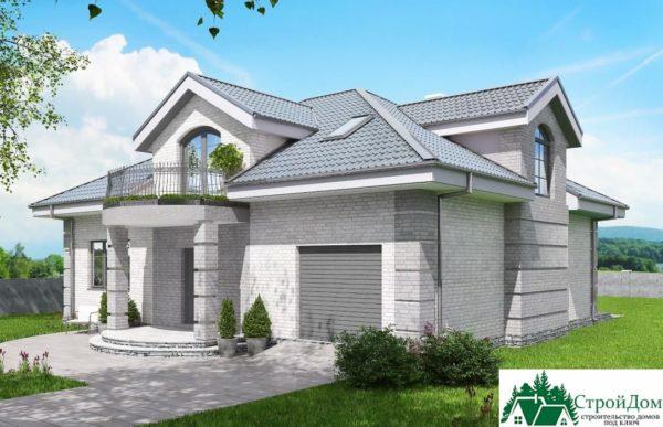 Проект дома с мансардой SD 913 вид 2 16