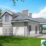 Проект дома с мансардой SD-913 вид 3 16