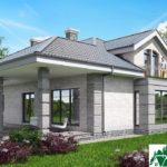 Проект дома с мансардой SD-913 вид 4 16