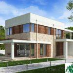 проект двухъэтажного дома 136 вид 1 11