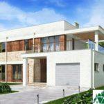 проект двухъэтажного дома 136 вид 2 11