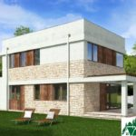 проект двухъэтажного дома 136 вид 4 11