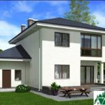 проект двухъэтажного дома 158 вид 3