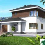 проект двухъэтажного дома 195 вид 1 7