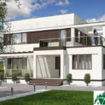проект двухъэтажного дома 264 вид 1 1