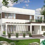 проект двухъэтажного дома 264 вид 2 1