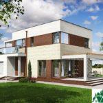 проект двухъэтажного дома 300 вид 1 9