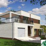 проект двухъэтажного дома 300 вид 4 9