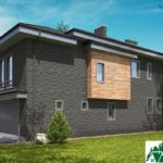 проект двухъэтажного дома 547 вид 2 15