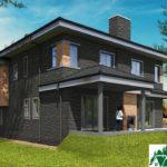 проект двухъэтажного дома 547 вид 3 15