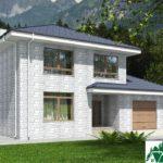 проект двухъэтажного дома 649 вид 2 13