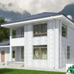 проект двухъэтажного дома 649 вид 3 13