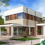 проект двухъэтажного дома 669 вид 2 6