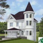проект двухъэтажного дома 927 вид 1 14