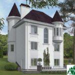 проект двухъэтажного дома 927 вид 3 14